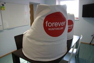 Säkkituolit Forever Kuntoklubi
