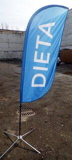Mainoslippu Tuuli 180 Delta