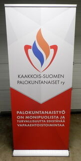 Roll-up Exclusive 850x2000 mm Palokuntanaiset