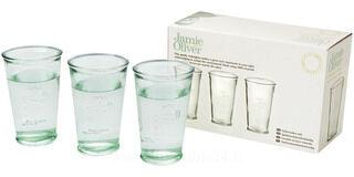 3 Water glasses