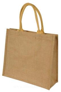 Short Handled Jute Shopper Bag