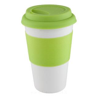 Mug with silicone 400ml