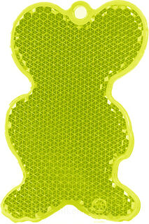 Reflector mouse 43x68mm yellow